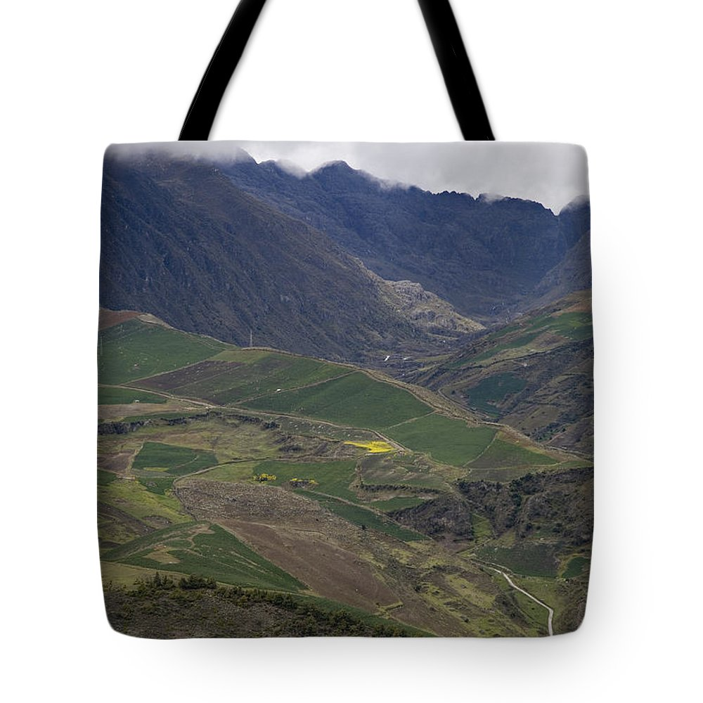 Nobody Tote Bag featuring the photograph Mucuchies, Merida, Venezuela, Andes by David Evans