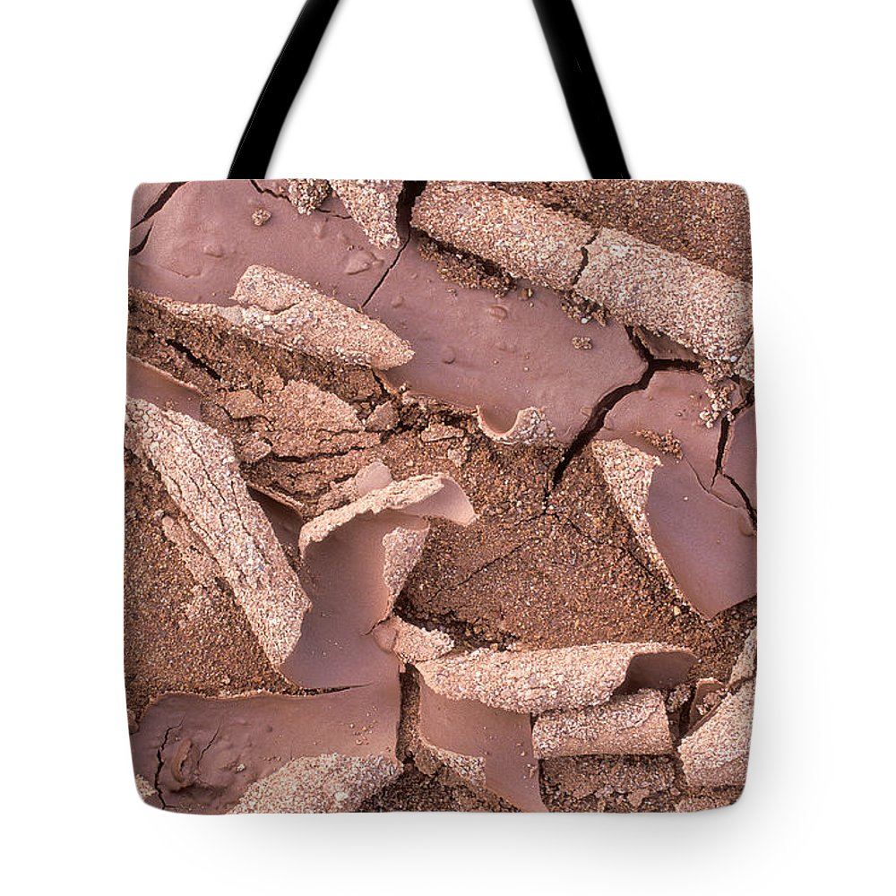 Bronstein Tote Bag featuring the photograph Mud Curls by Sandra Bronstein