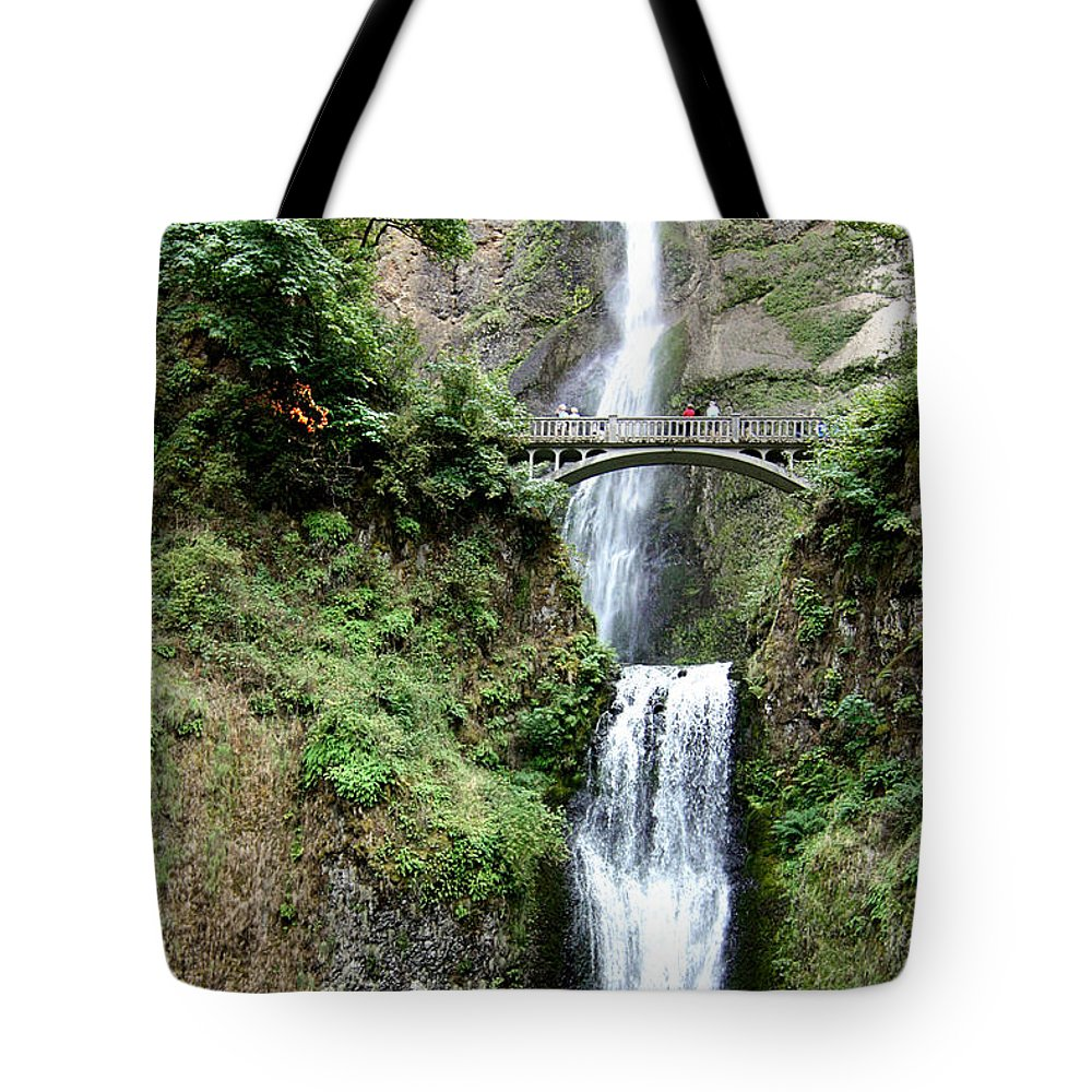 Oregon Tote Bag featuring the photograph Multnomah by Rudy Umans