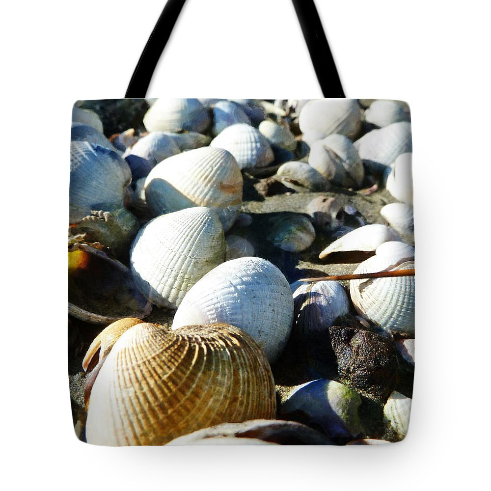 Muscle Beach Tote Bag featuring the photograph Muscle Beach by Steve Taylor