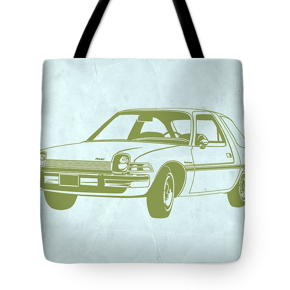 Car Interior Drawings Tote Bags