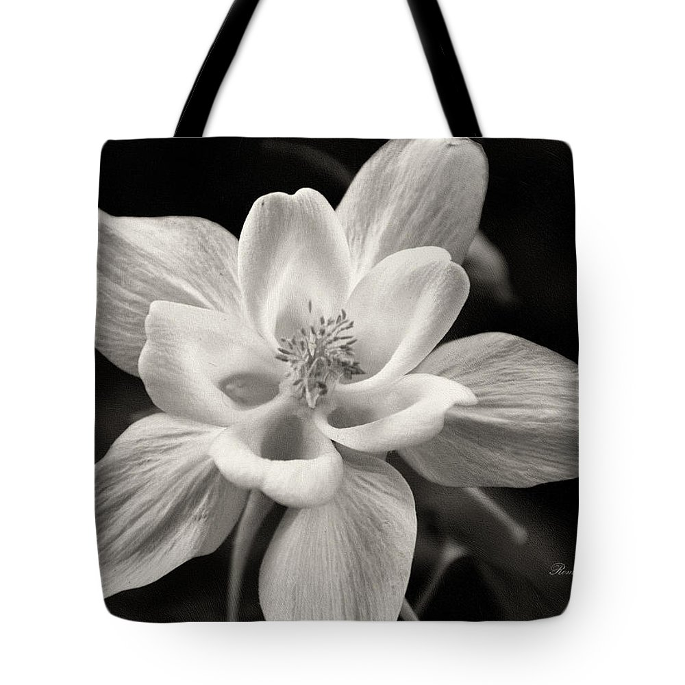 Macro Tote Bag featuring the photograph My Life Is My Own by Georgiana Romanovna