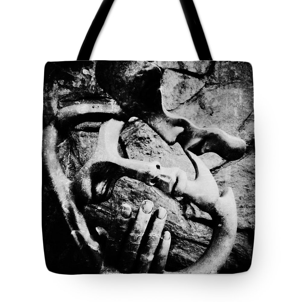 Jerry Cordeiro Photographs Tote Bag featuring the photograph My Rock by The Artist Project