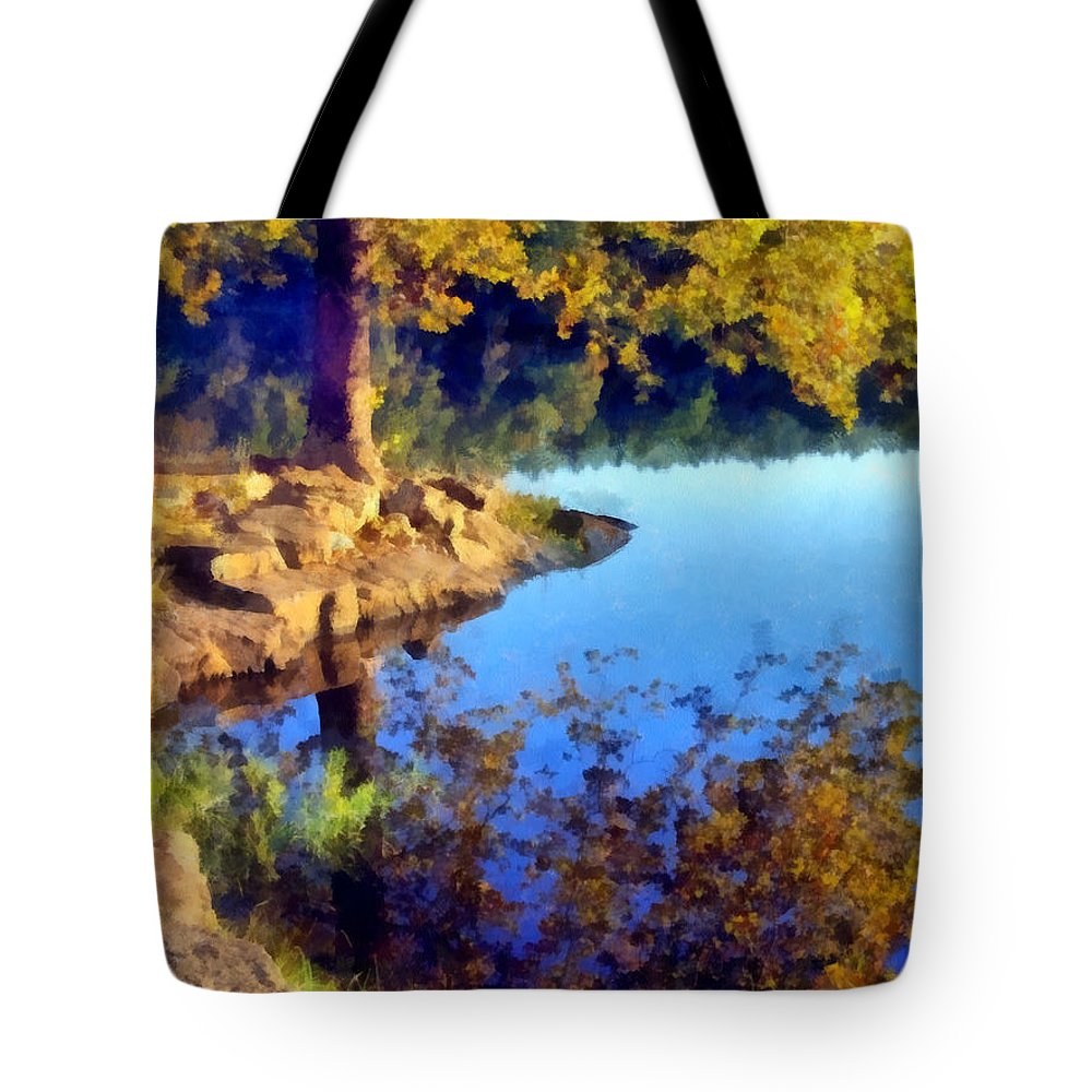 Tree Tote Bag featuring the photograph My Sanctuary by Angelina Vick