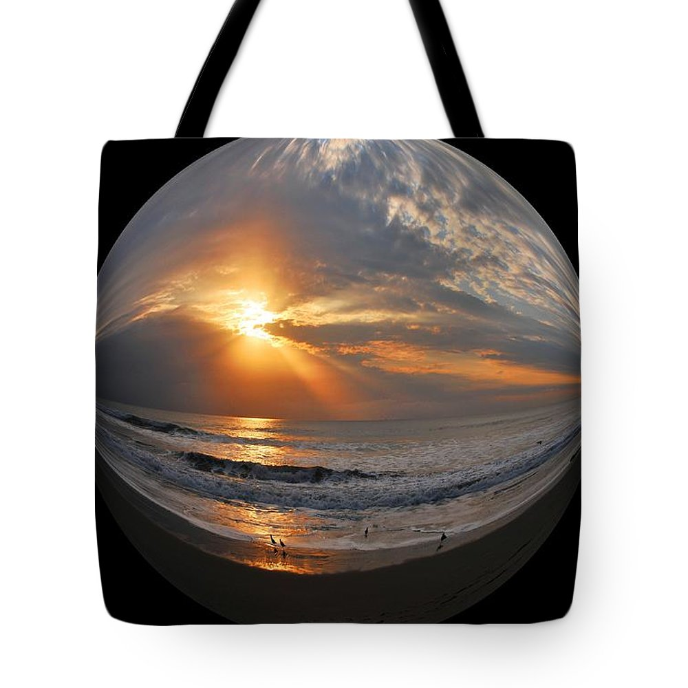 Beach Tote Bag featuring the photograph My World 2 by Lynn Bauer