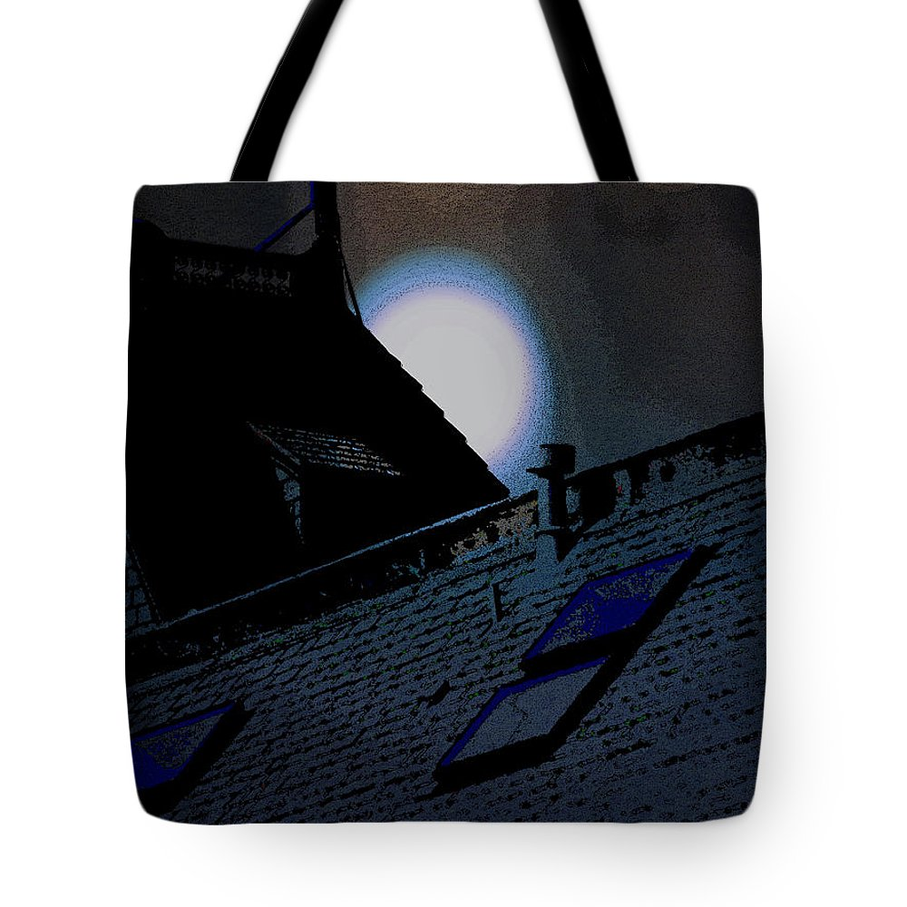 Abstract Tote Bag featuring the photograph Mystery by Lenore Senior