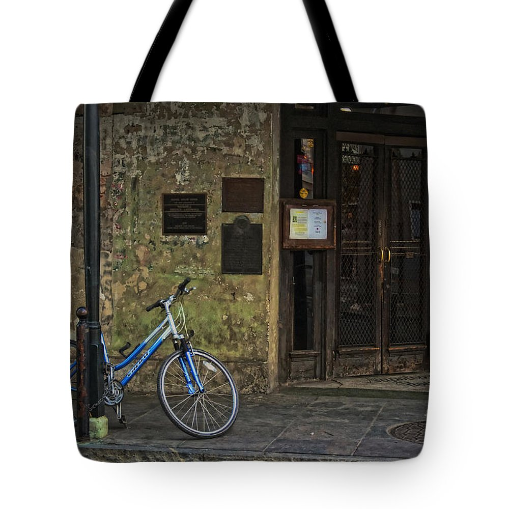 Napoleon Tote Bag featuring the photograph Napoleon House New Orleans by Kathleen K Parker