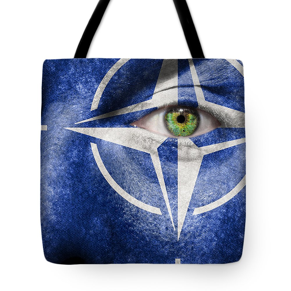 Art Tote Bag featuring the photograph Nato by Semmick Photo