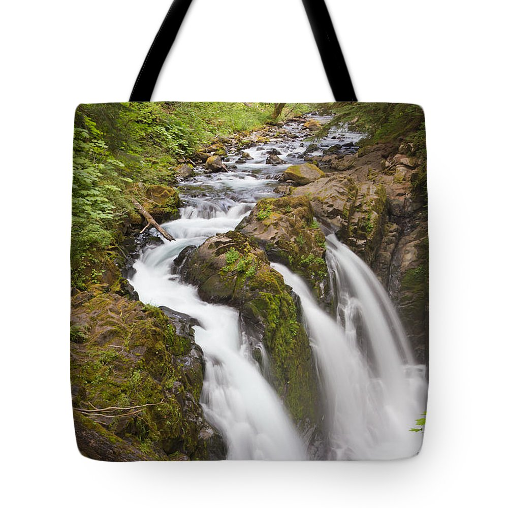 Adventure Tote Bag featuring the photograph Nature's Majesty II by Heidi Smith