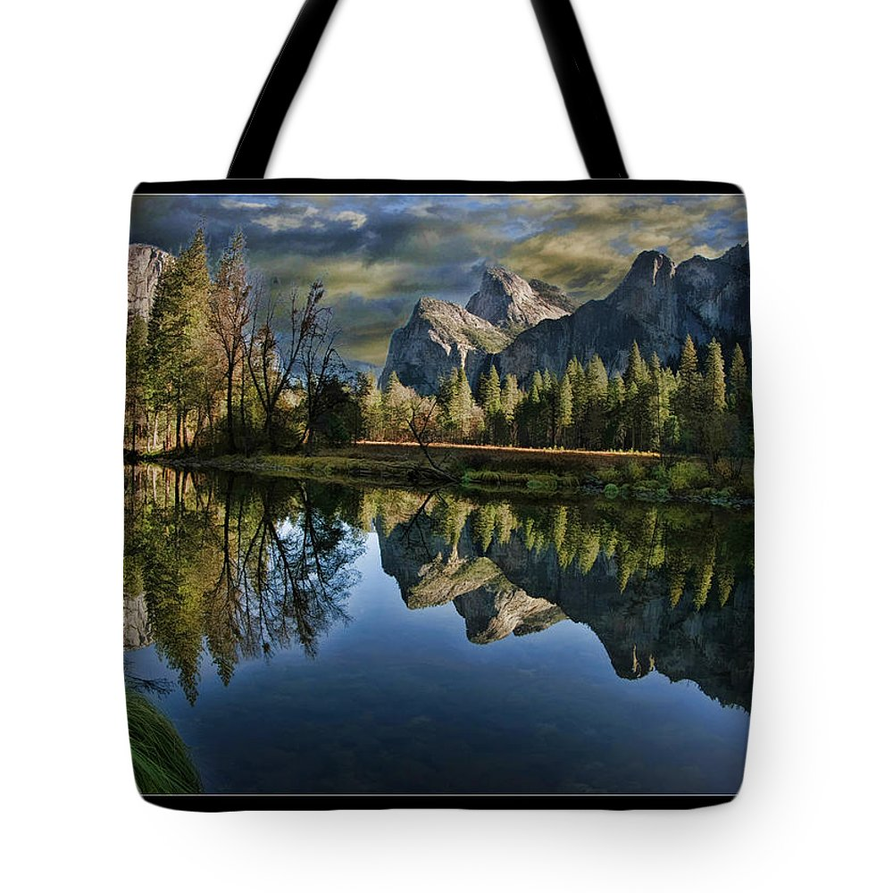 Art Photography Tote Bag featuring the photograph Natures Reflection by Blake Richards