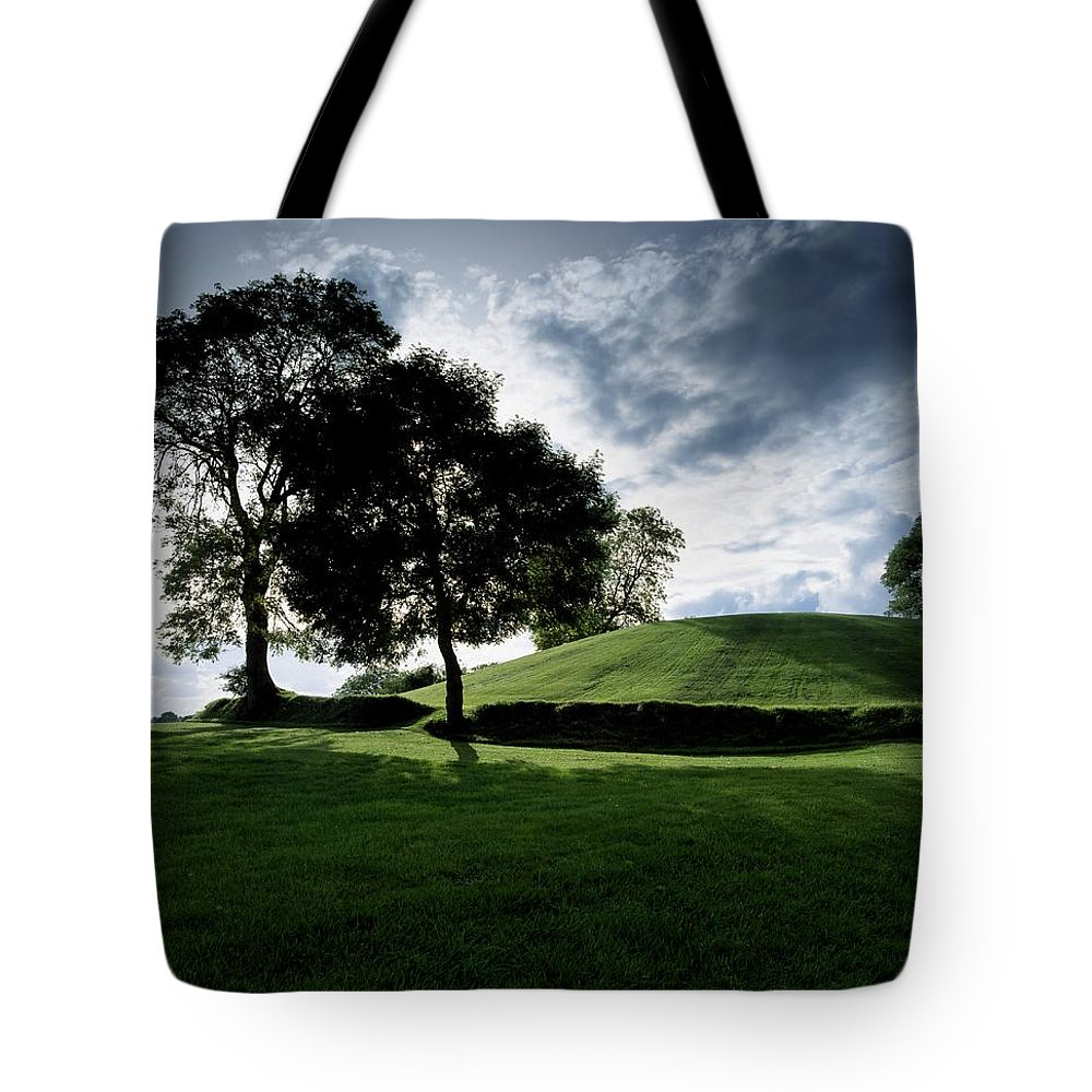 Archeological Site Tote Bag featuring the photograph Navan Fort, Co Armagh, Ireland by The Irish Image Collection