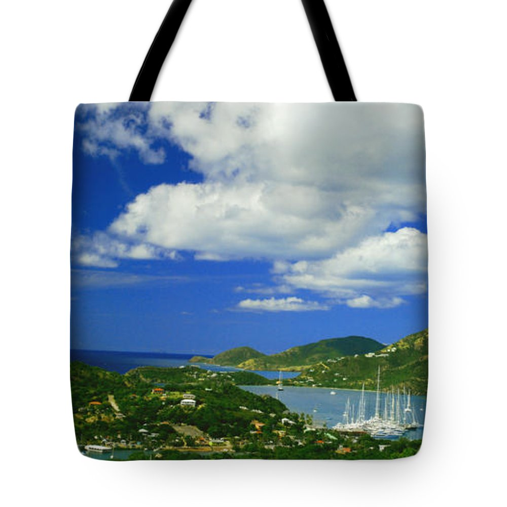 Antigua Tote Bag featuring the photograph Nelson's Dockyard by Gary Wonning