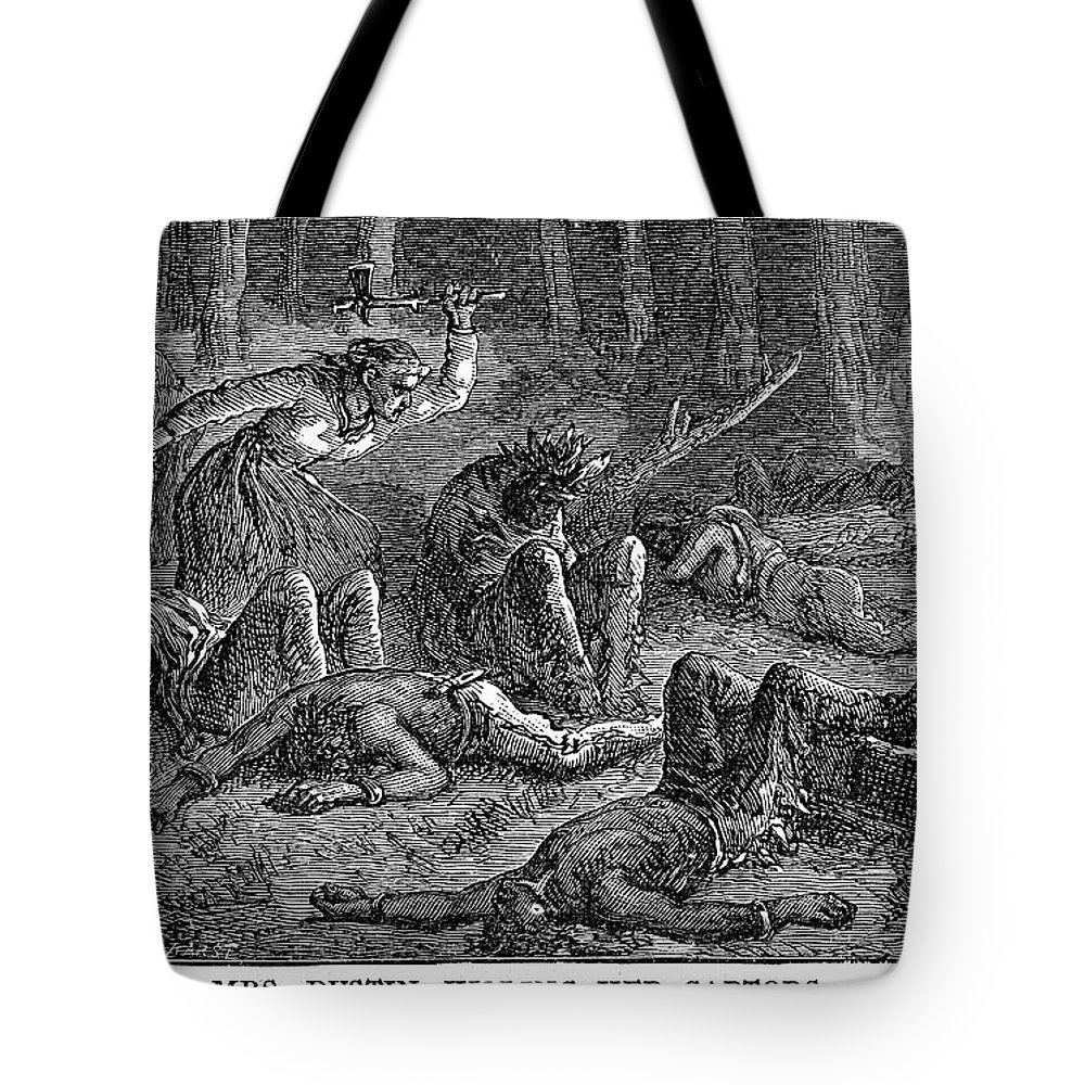 1697 Tote Bag featuring the photograph New England: Captives by Granger