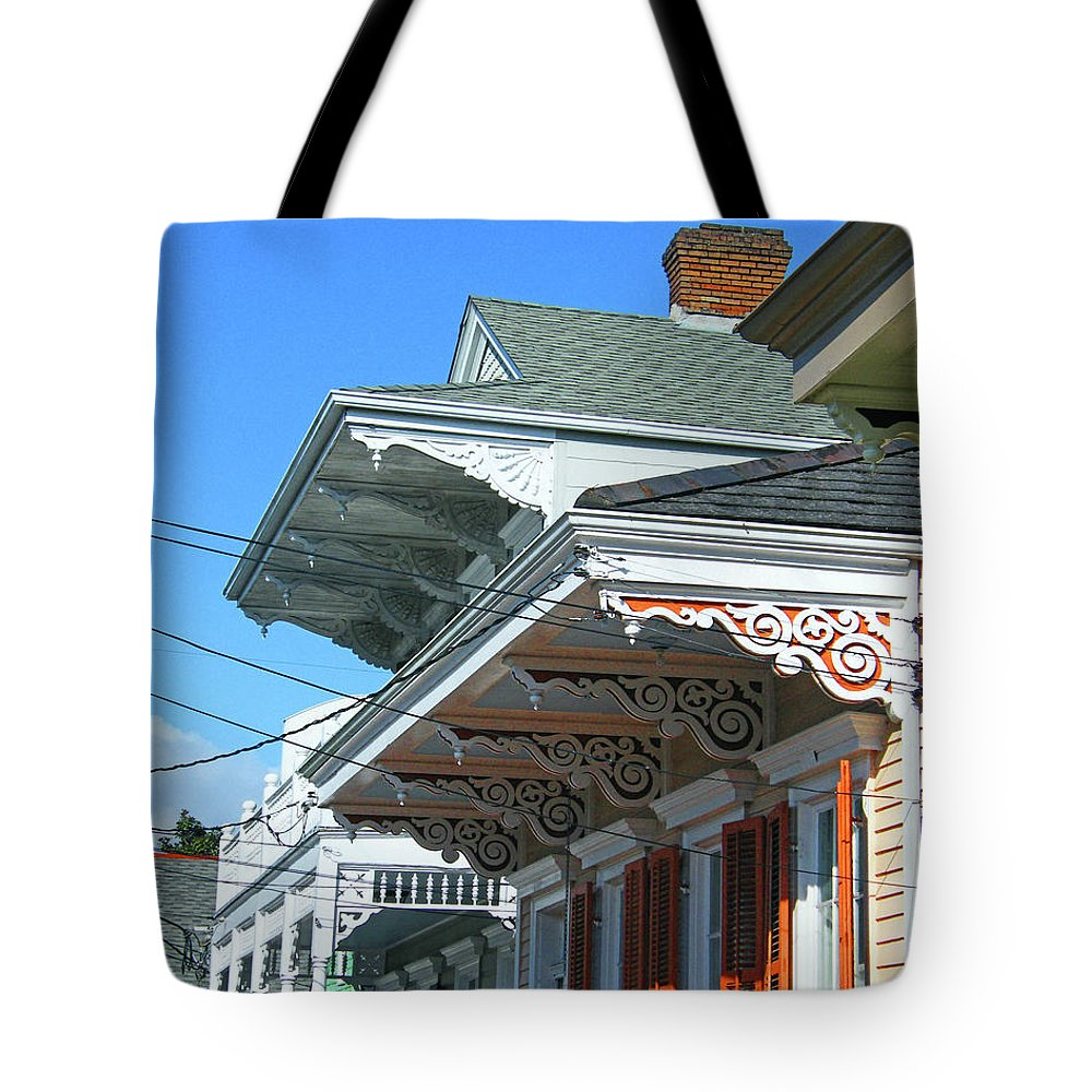 New Orleans Tote Bag featuring the photograph New Orleans Home Uptown by Lizi Beard-Ward