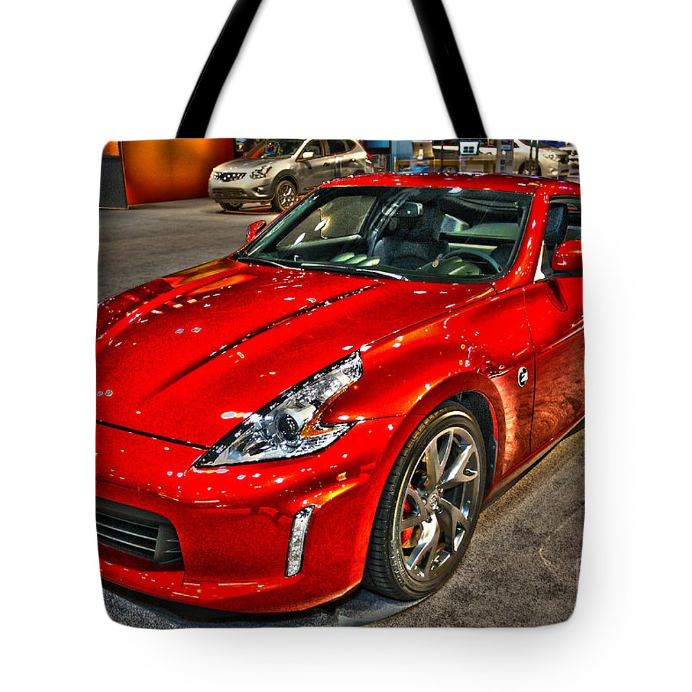 Art Tote Bag featuring the photograph No Snoozing by Alan Look