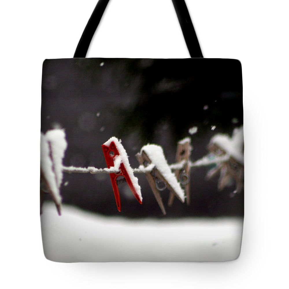 Laundry Tote Bag featuring the photograph No Wash Today by Heather Applegate
