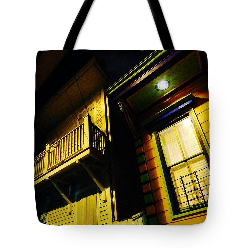 New Orleans Tote Bag featuring the photograph Nocturnal Nola by Lizi Beard-Ward