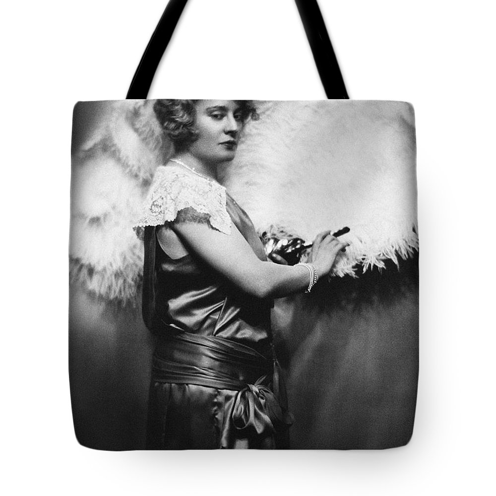 1920s Tote Bag featuring the photograph Nora Bayes (1880-1928) by Granger