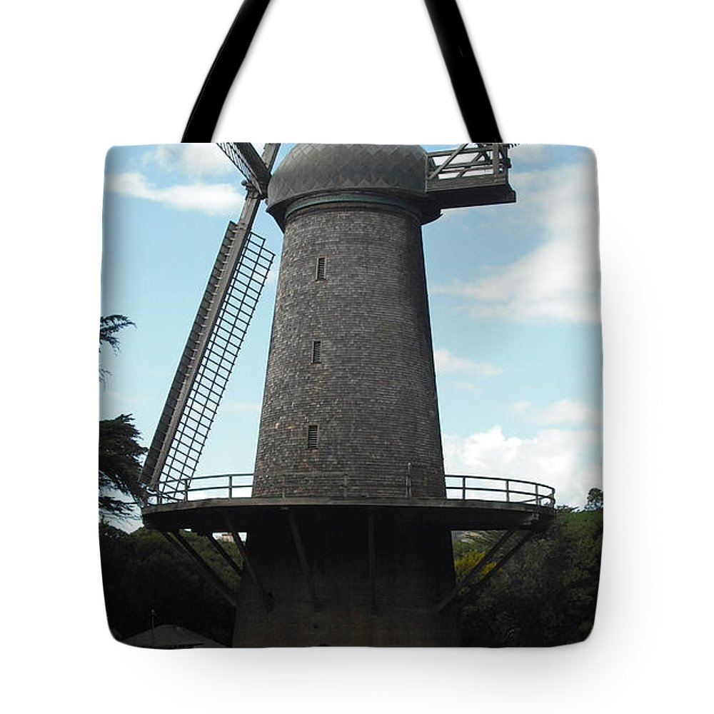 North Tote Bag featuring the photograph North Windmill San Francisco by Richard Reeve