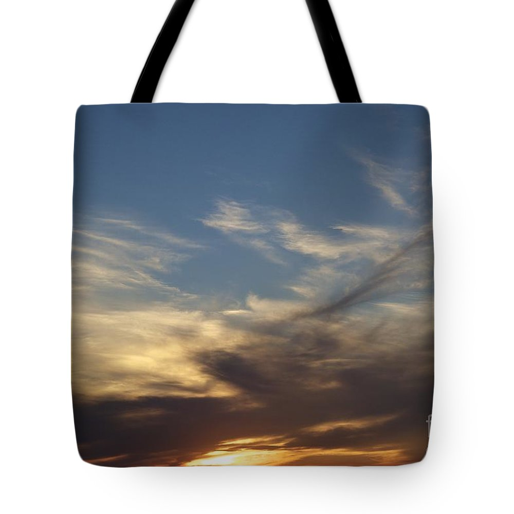Sky Tote Bag featuring the photograph Nothing But Sky by Alanna DPhoto
