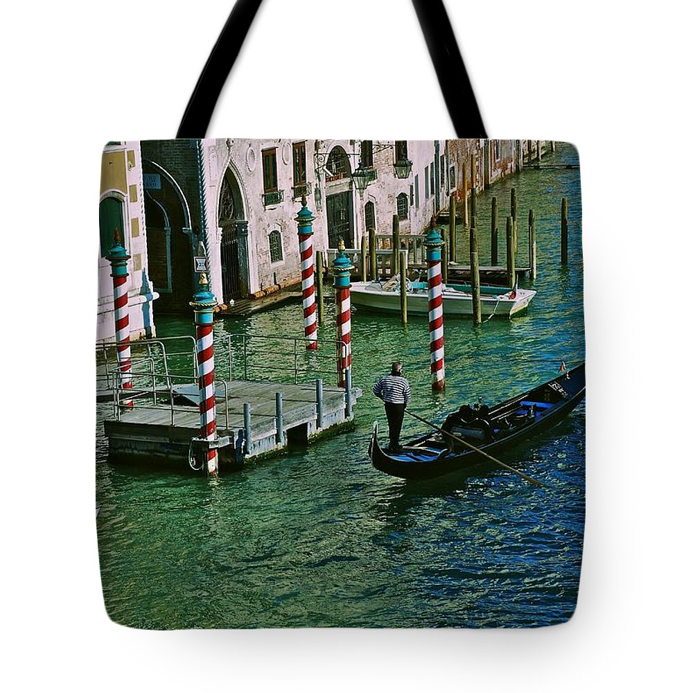 Venice Tote Bag featuring the photograph O Sole Mio by Eric Tressler