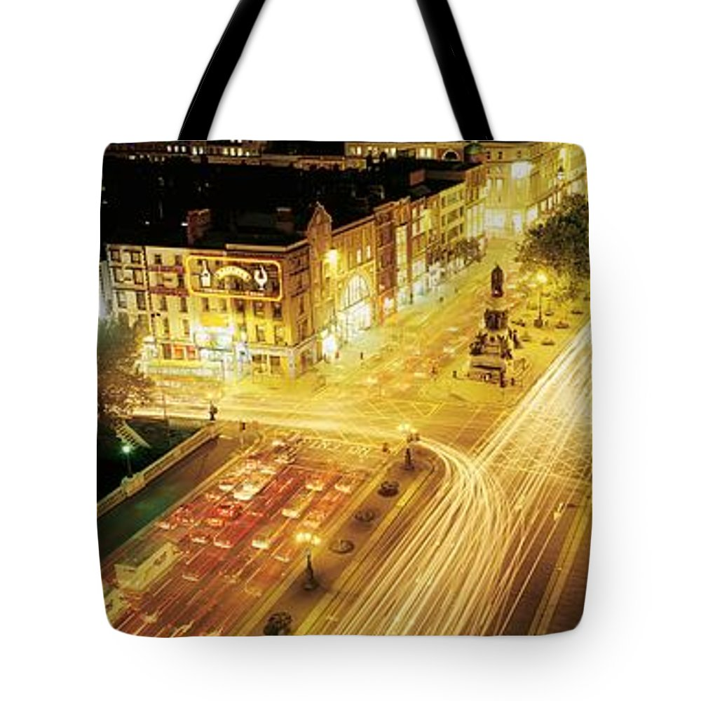 Building Tote Bag featuring the photograph Oconnell Street, Dublin City, Dublin by The Irish Image Collection