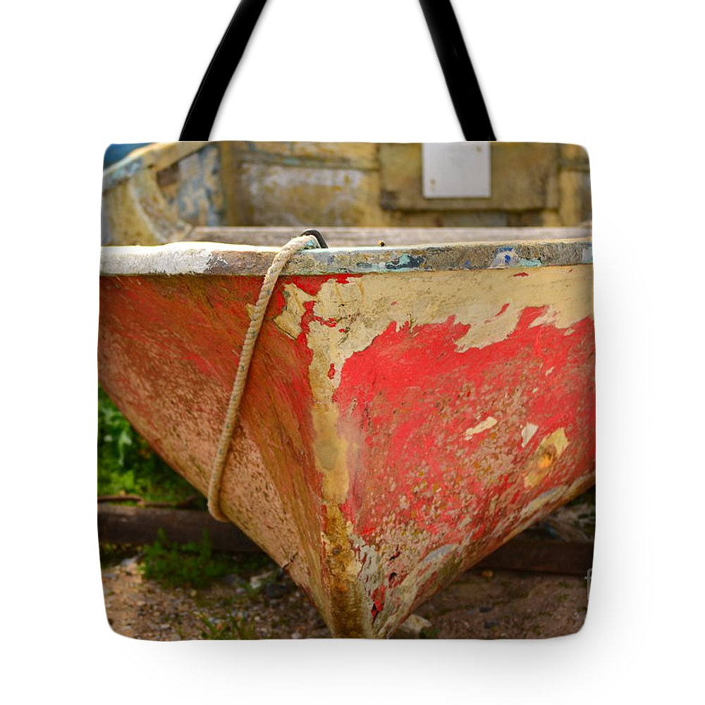 Boats Tote Bag featuring the photograph Old And Wrinkled by Rene Triay Photography