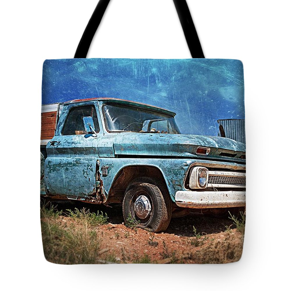 Old Chevy Pickup Tote Bag for Sale by Matt Suess