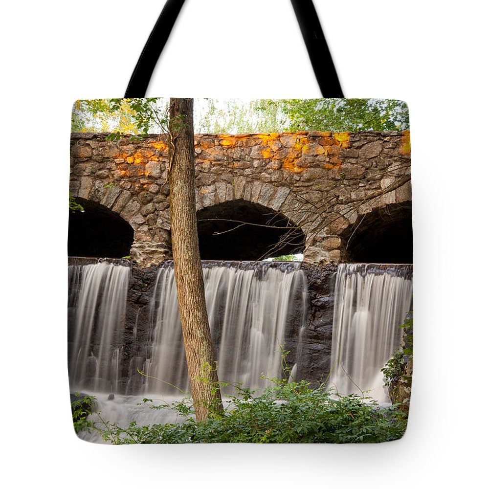 Manchester Tote Bag featuring the photograph Old Industry by Frank Pietlock