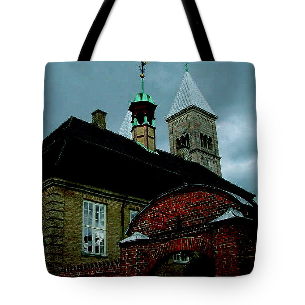Colette Tote Bag featuring the photograph Old Part Of Town by Colette V Hera Guggenheim