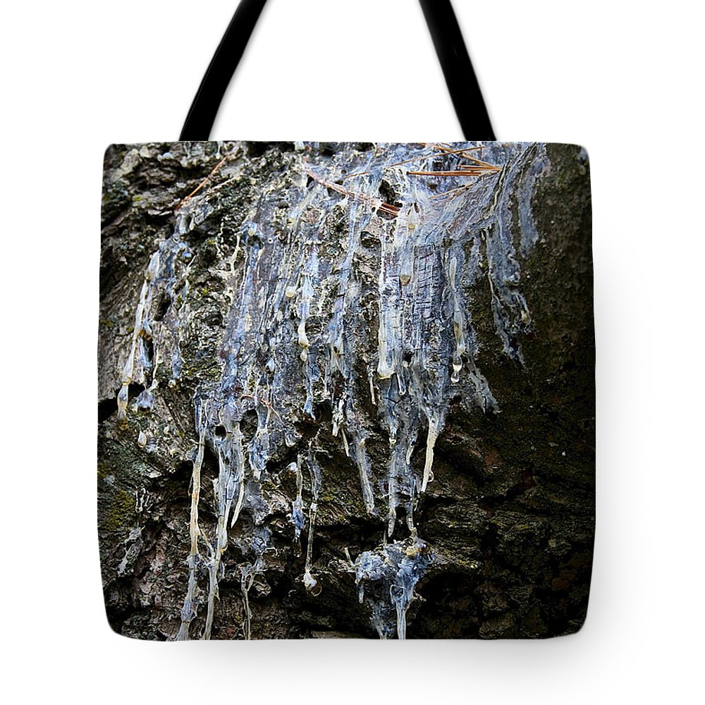 Outdoors Tote Bag featuring the photograph Old Sap by Susan Herber