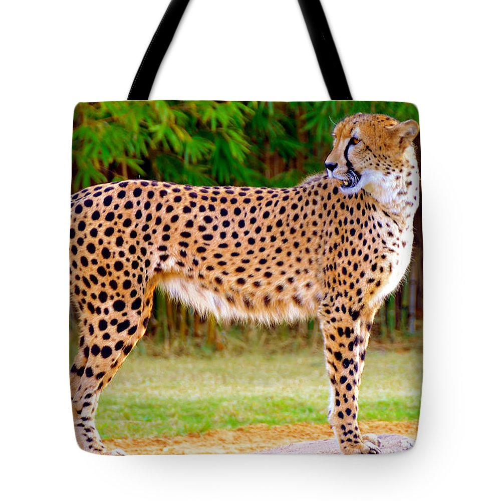 Wildlife Photography Tote Bag featuring the photograph On The Hunt by David Lee Thompson