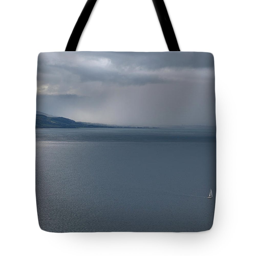 Sea Tote Bag featuring the photograph Open Water by Mal Bray