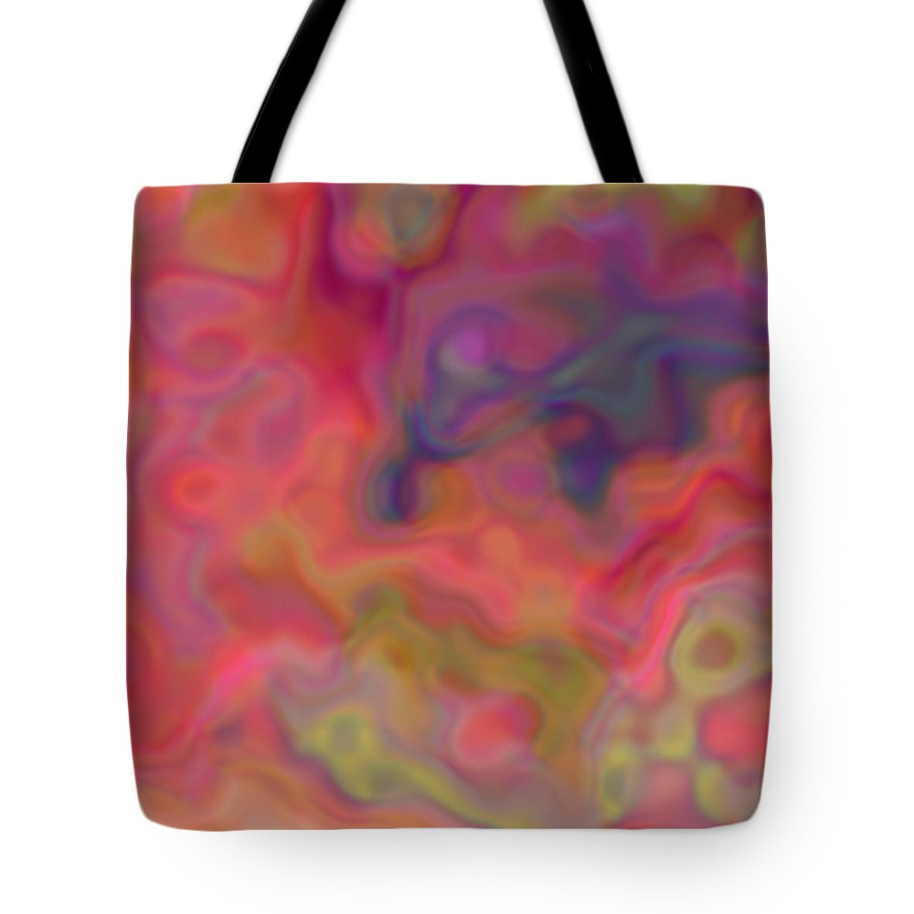 Digital Art Tote Bag featuring the digital art Optimism by Christy Leigh