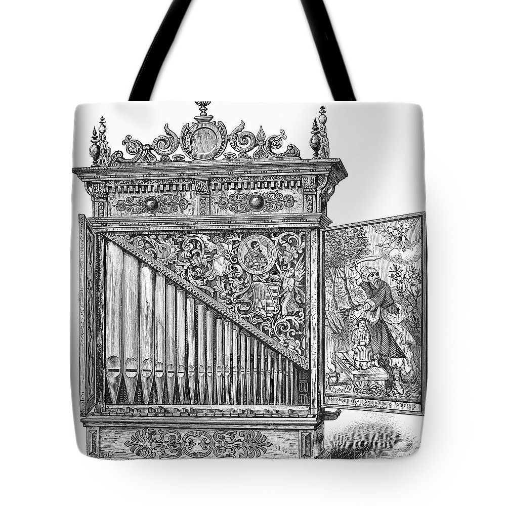 Abraham Tote Bag featuring the photograph Organ Positive by Granger