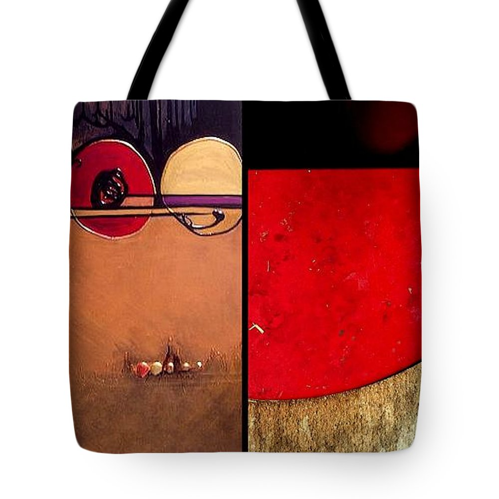 Marlene Burns Tote Bag featuring the painting p HOTography 79 by Marlene Burns