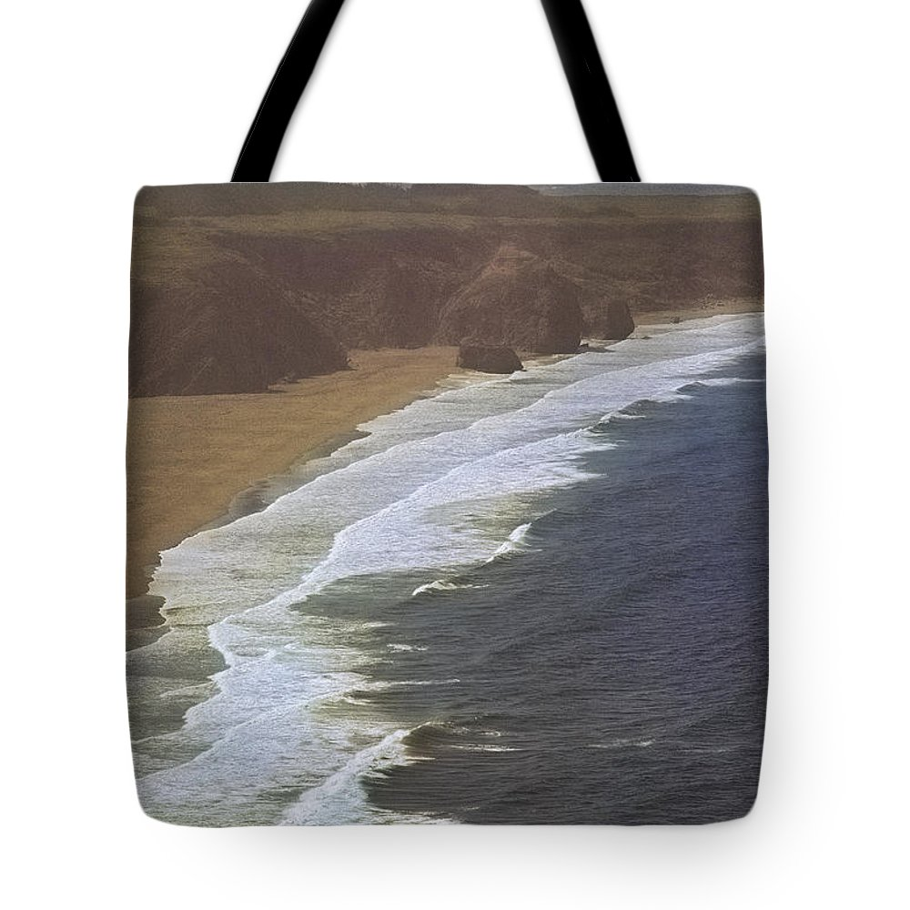Pacific Tote Bag featuring the photograph Pacific Coast by Mark Greenberg