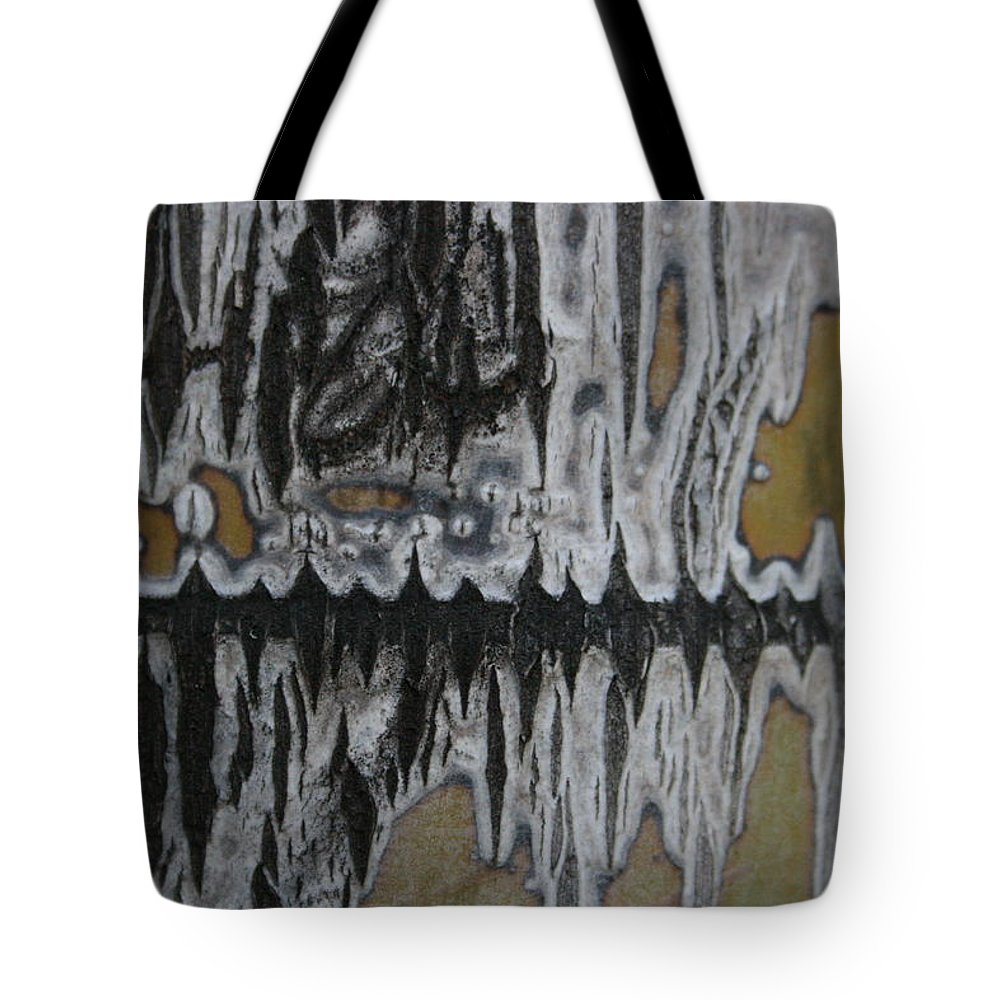 Jennifer Bright Art Tote Bag featuring the photograph Palm Stalk 4 by Jennifer Bright