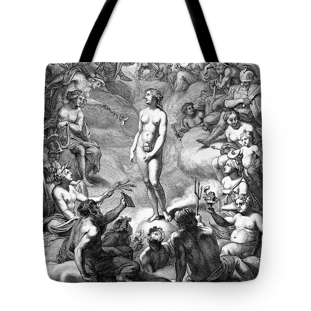 18th Century Tote Bag featuring the photograph Pandoras Box by Granger