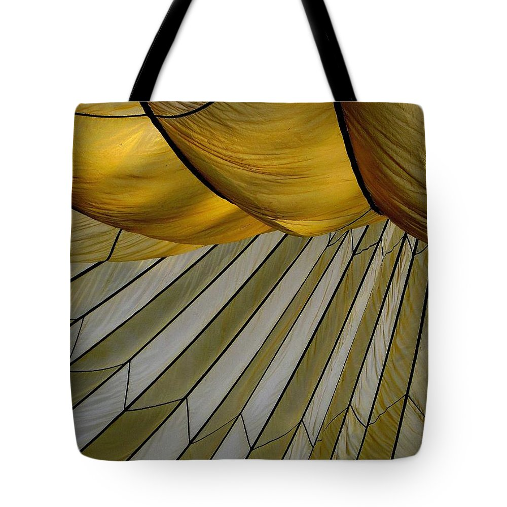 Parachute Tote Bag featuring the photograph Parachute Shade by David Salter