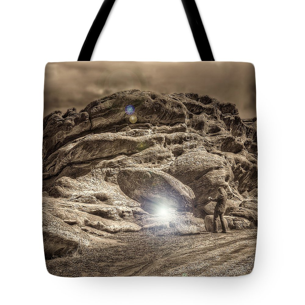 Rockies Tote Bag featuring the photograph Paranormal Rockies by Merja Waters