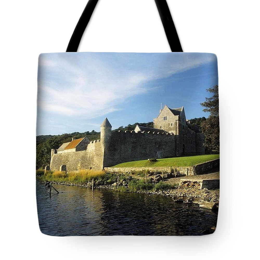 Archaeology Tote Bag featuring the photograph Parkes Castle, Co Leitrim, Ireland by The Irish Image Collection