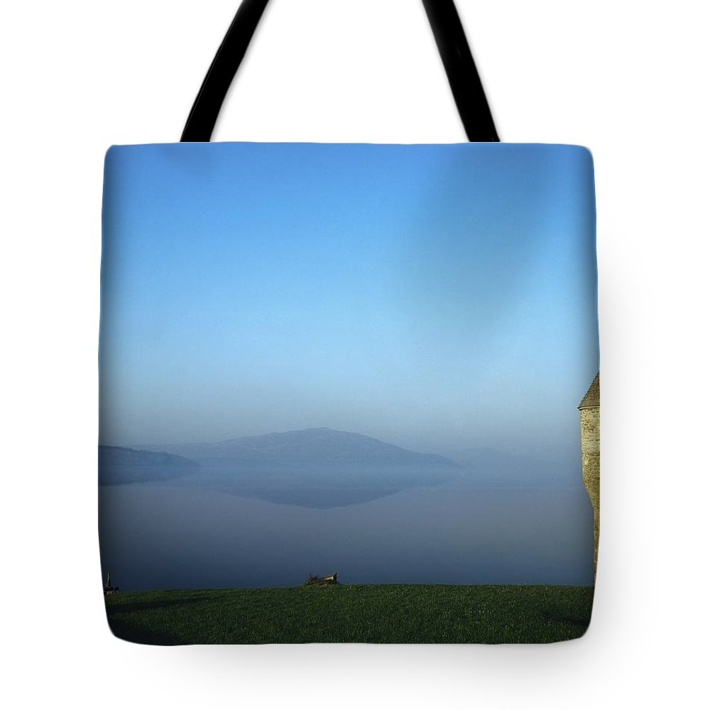 Bay Tote Bag featuring the photograph Parkes Castle, Lough Gill, County by The Irish Image Collection