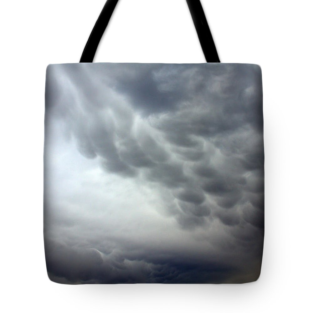 Parting The Great Sea Tote Bag featuring the photograph Parting The Great Sea by Ed Smith