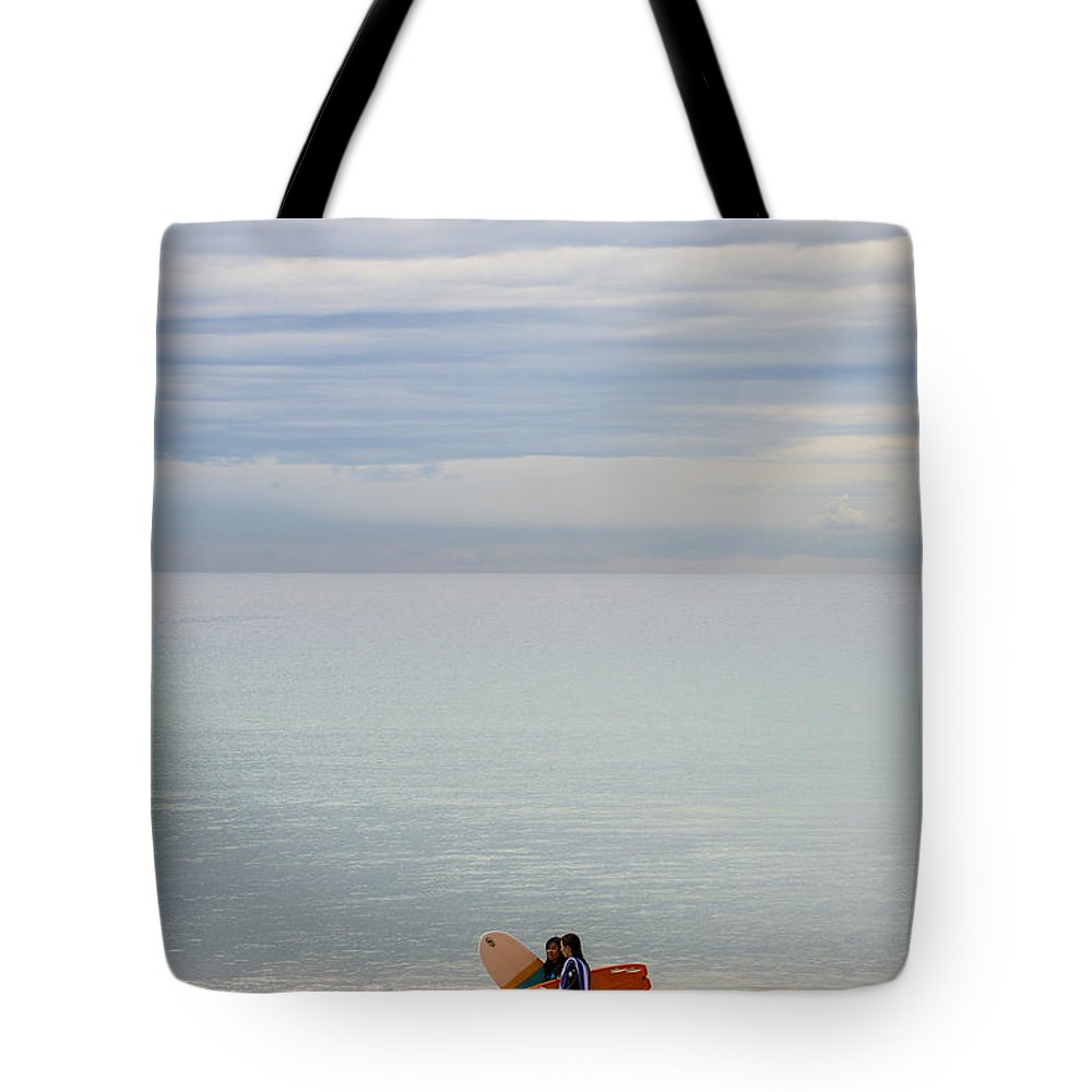 Pastel Tote Bag featuring the photograph Pastel Manly morning by Sheila Smart Fine Art Photography