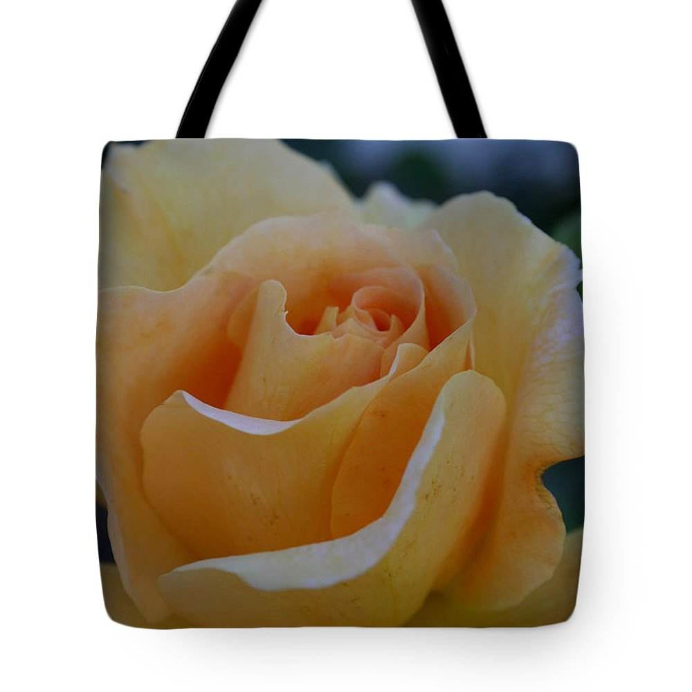Flower Tote Bag featuring the photograph Pastel Tangerine by Susan Herber