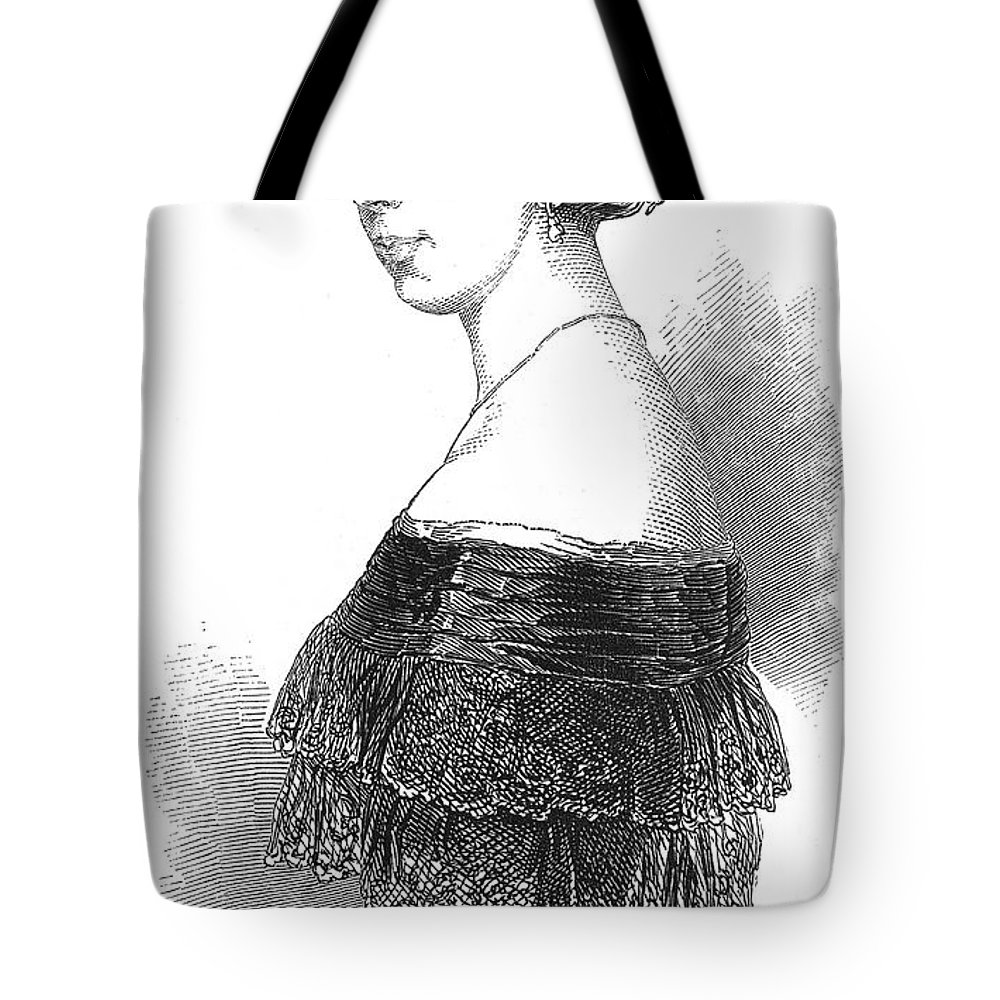 1848 Tote Bag featuring the photograph Pauline Viardot-garcia by Granger