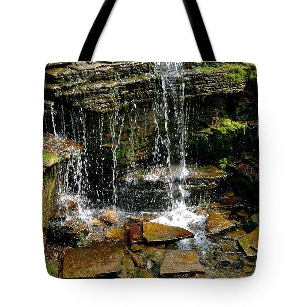 Usa Tote Bag featuring the photograph Peaceful Rocks by LeeAnn McLaneGoetz McLaneGoetzStudioLLCcom