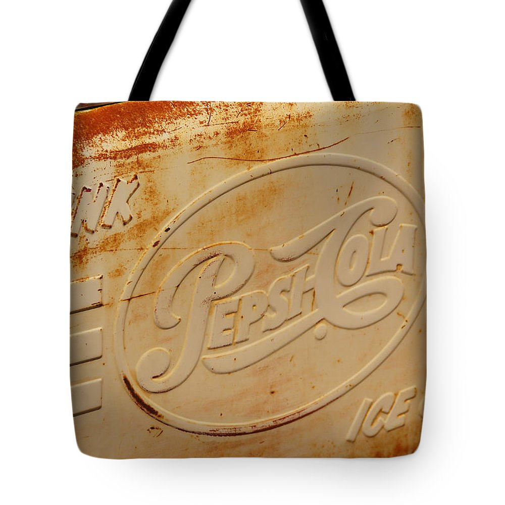 Pepsi Tote Bag featuring the photograph Pepsi Cola Remembered by Mick Anderson