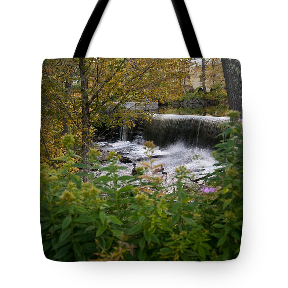 water Falls Tote Bag featuring the photograph Perfect Country Setting by Paul Mangold